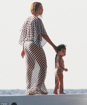 Beyonce And Husband Jay Z Reveal Beach Bodies On Her 32nd Birthday Celebration (PHOTOS)