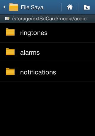 mengganti nada penggilan android