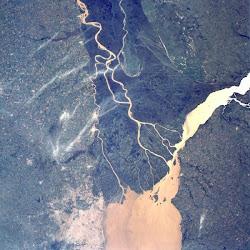 El Tigre desde satélite