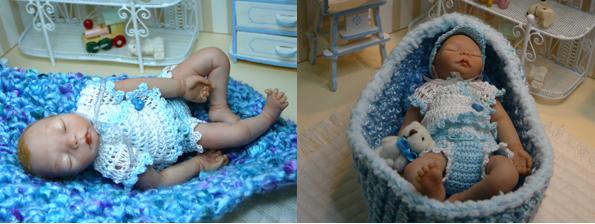 reborn+azul Bebés reborn hechos de la nada