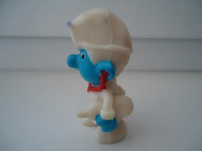 SCHIEICH PEYO VINTAGE FIGURE - RARE Smurf Doctor