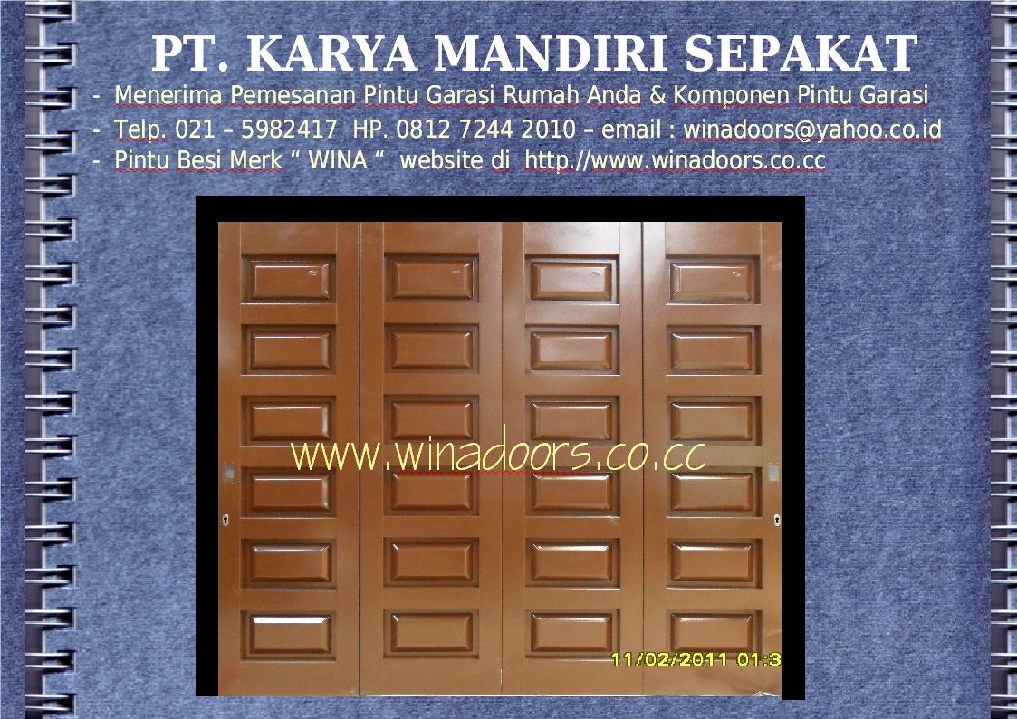 ... for Model Pintu Garasi Besi • Desain Rumah Minimalis Modern Terbaru