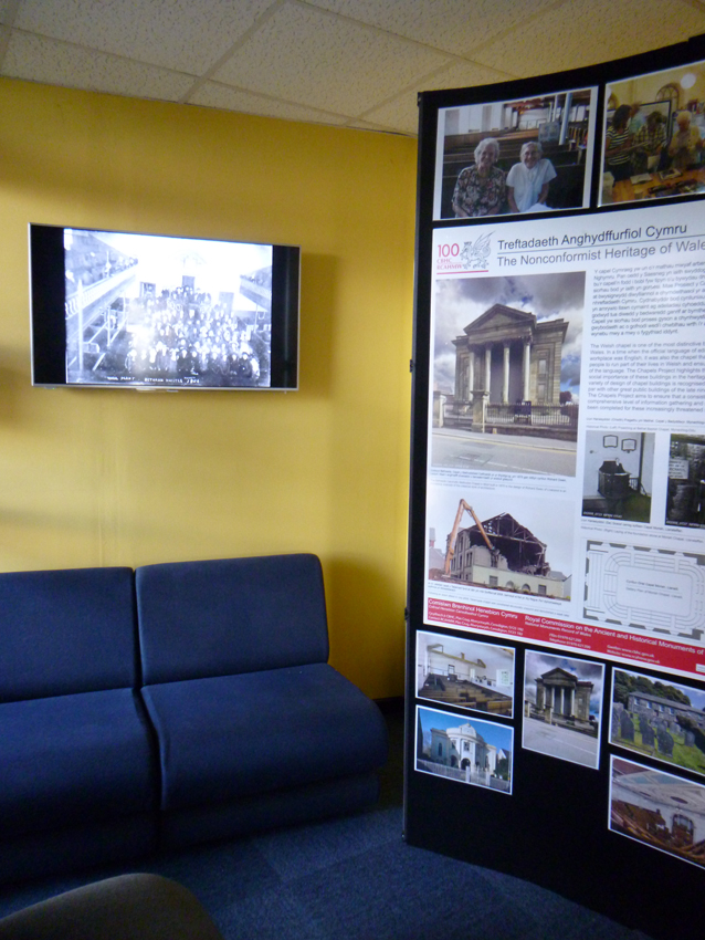 Foyer Wales Home : Rcahmw foyer display chapels heritage of wales news