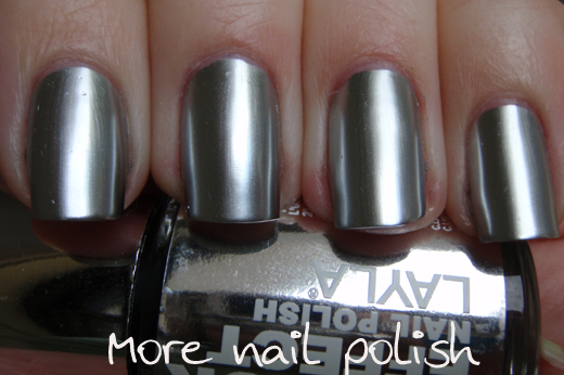 Metal Chrome Silver