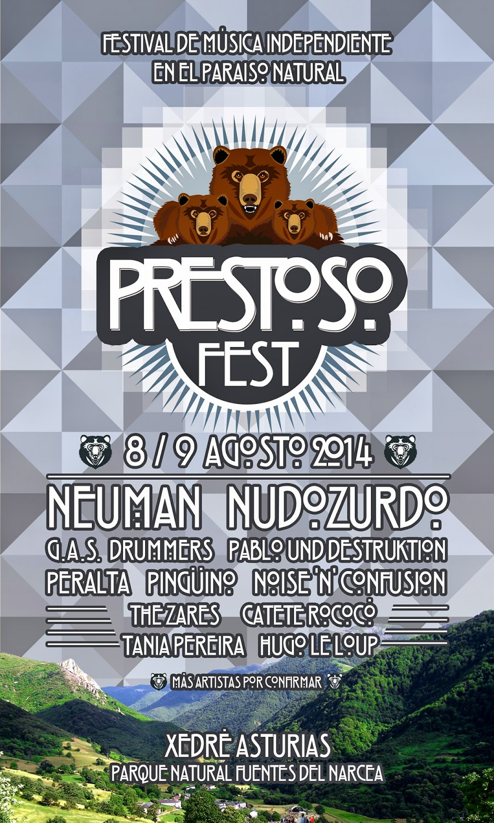 Prestoso Fest 2014 cartel