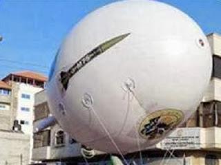 Balon udara Hamas (foto InfoPalestina)