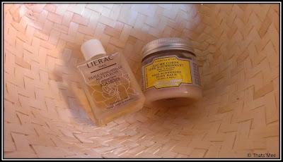 Huile sensorielle aux 3 fleurs Lierac, Baume très nourrissant miel et karité Couvent des Minimes