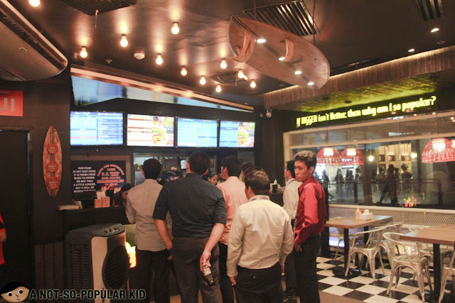Teddy's Bigger Burgers Interior in Makati