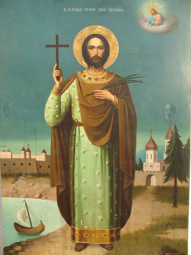 Sfantul Mare Mucenic Ioan cel Nou de la Suceava