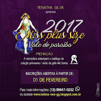 Miss Plus Size vale do Paraíba 2017