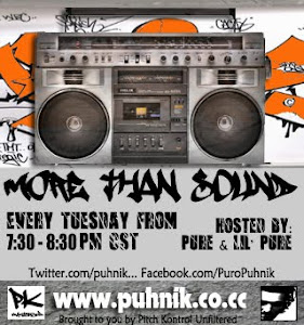"""More Than Sound "" Every Tuesday"