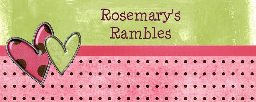 Rosemary Rambles