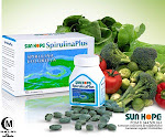SUN HOPE SPIRULINA PLUS