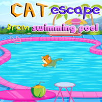 Cat Escape From Swimming Pool Walkthrough