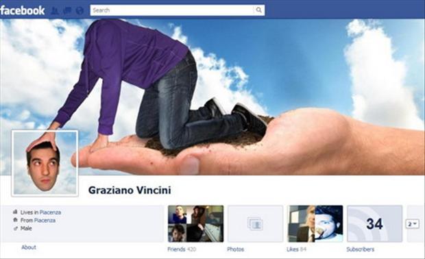 Capa para Facebook criativa