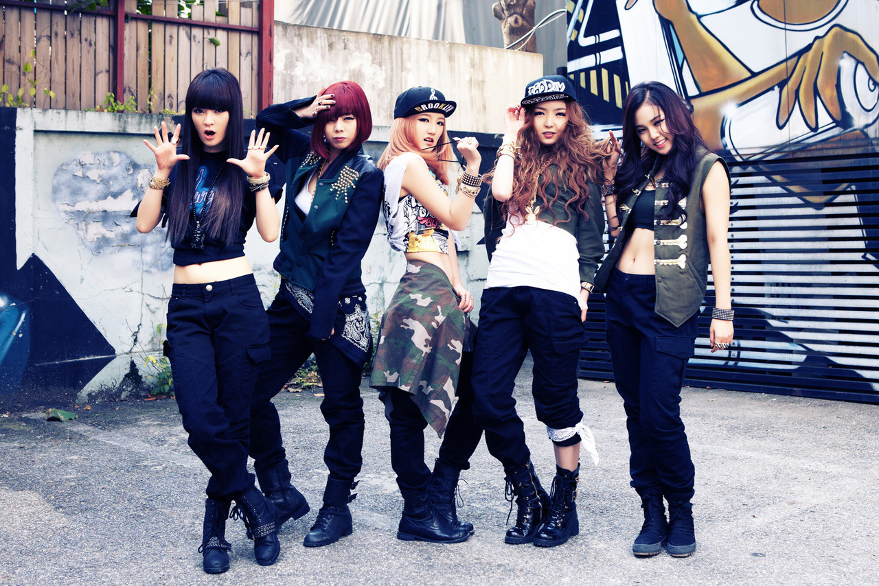 K popzine evol second evolution photoshoot Fashion style group mauritius