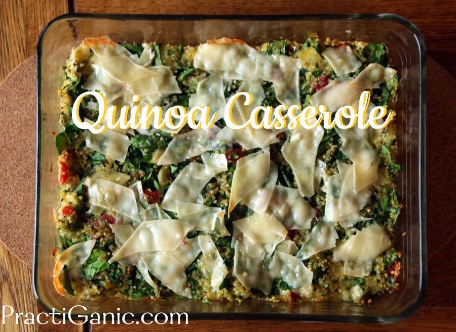 Spinach Quinoa Casserole