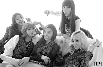 Ladies's Code HIM Magazine 2013