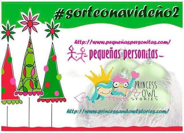 sorteo navideño, sorteo, sorteos, navidad, pequeñas personitas, princess and owl stories,