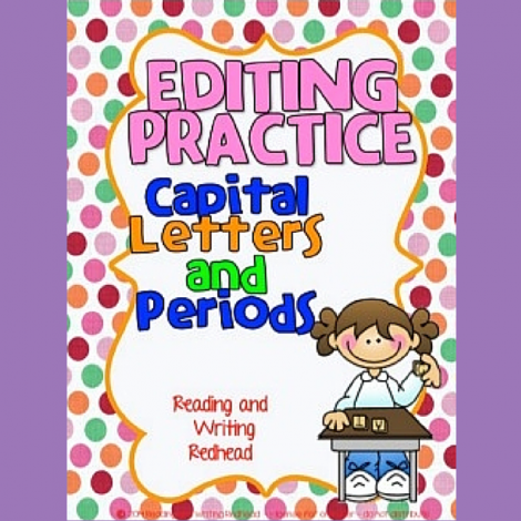 Editing Practice Capital Letters and Periods