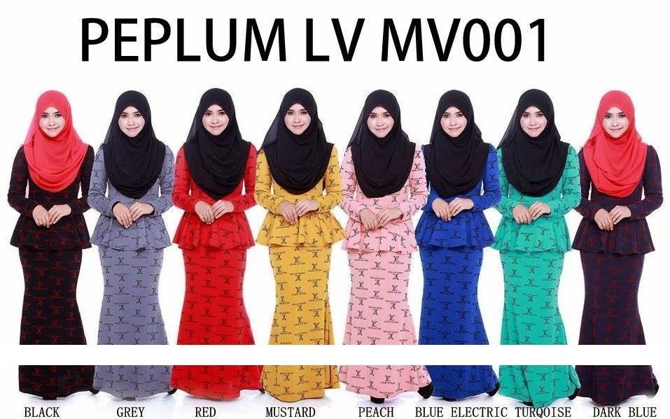 KURUNG PEPLUM LV MV001