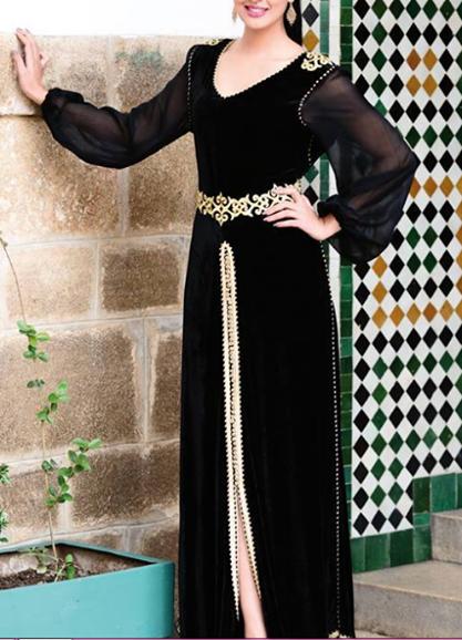 caftan moderne marocain 2015 vendre caftan moderne 2018 boutique vente caftan marocain de luxe. Black Bedroom Furniture Sets. Home Design Ideas