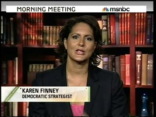 , MSNBC Political Analyst and columnist for The Hill, Karen Finney