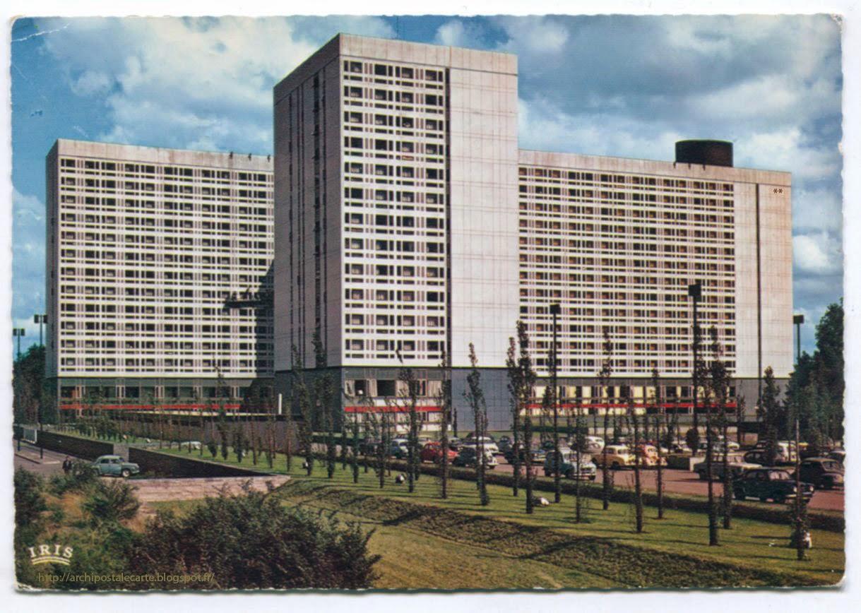 Architectures de cartes postales 2 le surm le dubuisson for Architecte thionville