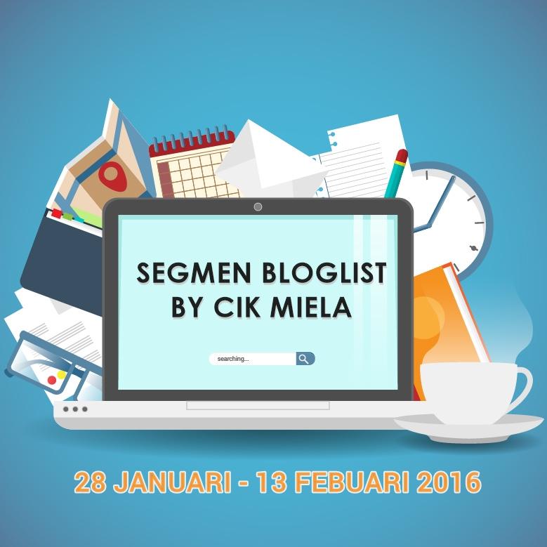 Segmen Bloglist by Cik Miela