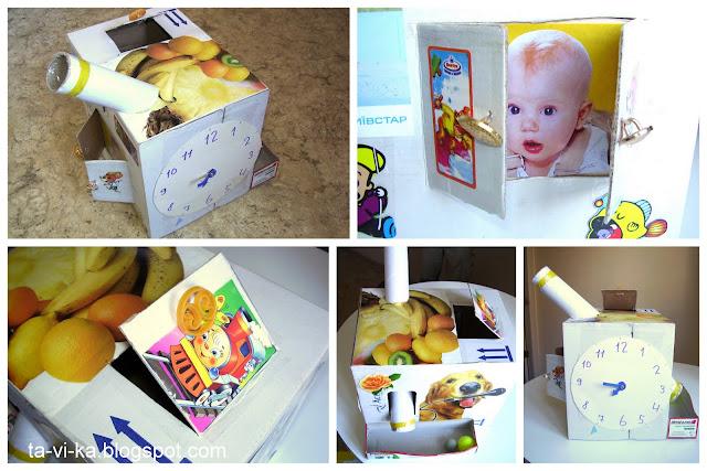 развивающая коробка