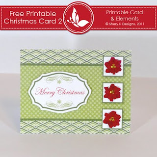Free Christmas Card Making Kit