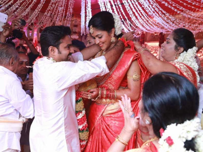 Amala Paul and Director Vijay Wedding Ceremony