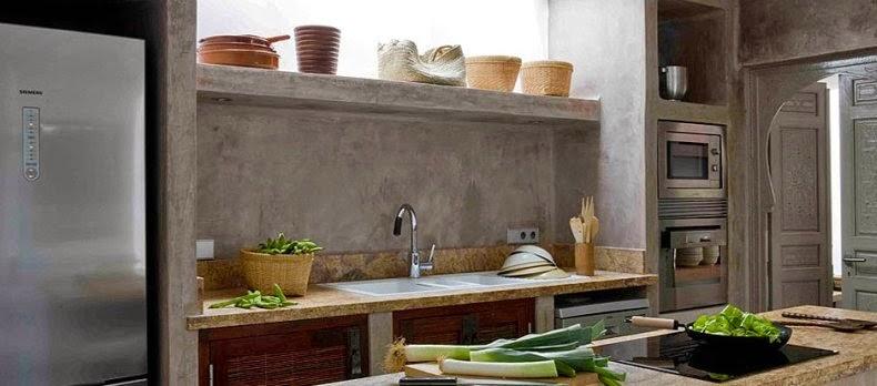 Suelo cemento pulido - Cocina cemento pulido ...