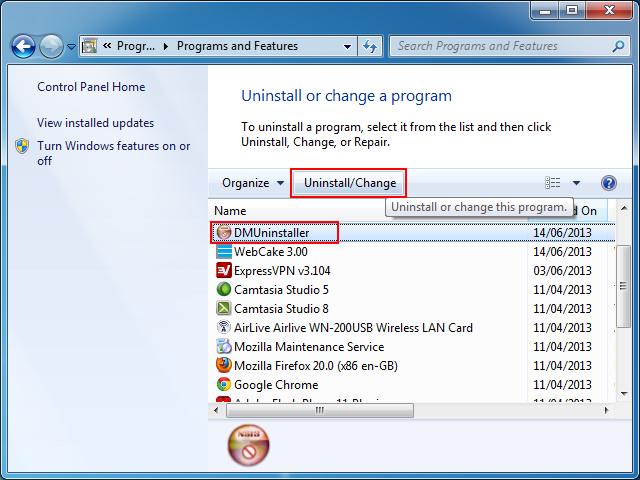 how to find uninstalled programs redgiantlink