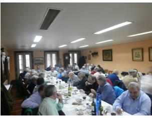 Casa de arn iz comida de hermandad de ex alumnos del for Casa granada tirso de molina