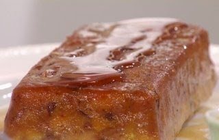 Budin de Pan, Chocolate y Nueces