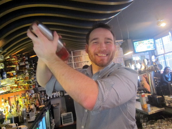 Rob Caldwell, Bar Manager at the Exchequer Gastropub Dublin