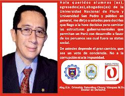Este 5 de junio vota sin miedo y construyamos juntos el Perú que todos queremos.
