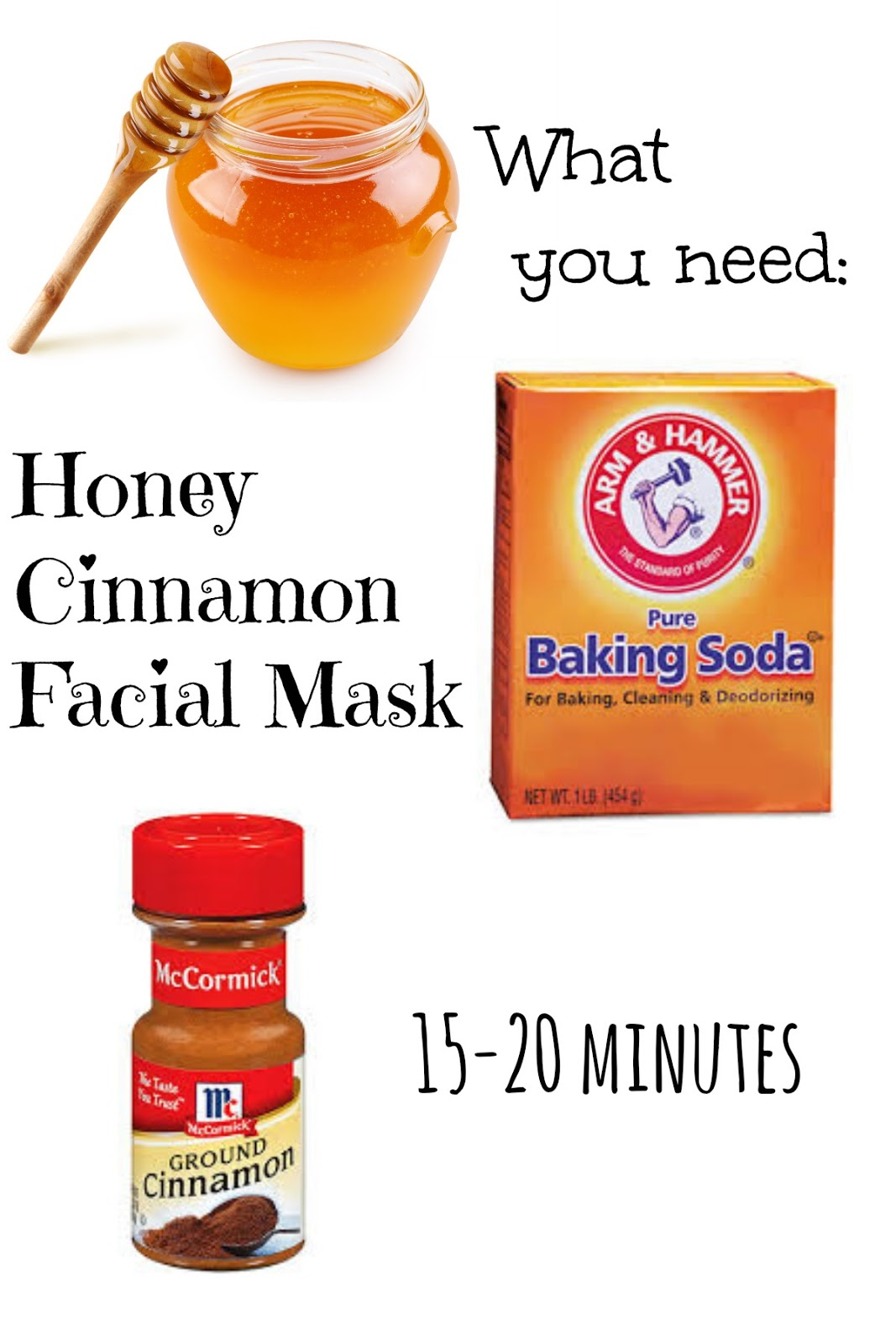 DIY Cinnamon Honey Acne Mask