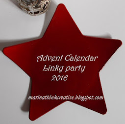 1° Advent Calendar Linky Party 2016 by Marina
