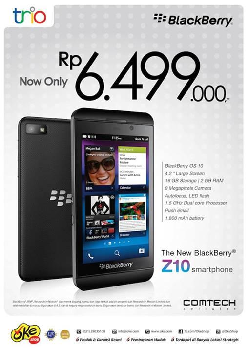 Spesifikasi Dan Harga Hp Blackberry Z10 Rajahape Harga