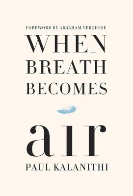 This memoir about facing death by a 36 year old doctor diagnosed with terminal lung cancer is so amazing. One of the best books I've read in years.