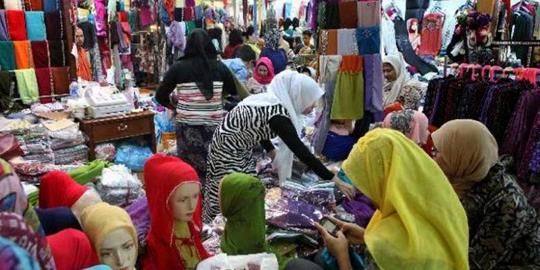 Busana Muslim Harga Grosir Terjangkau Jatinegara