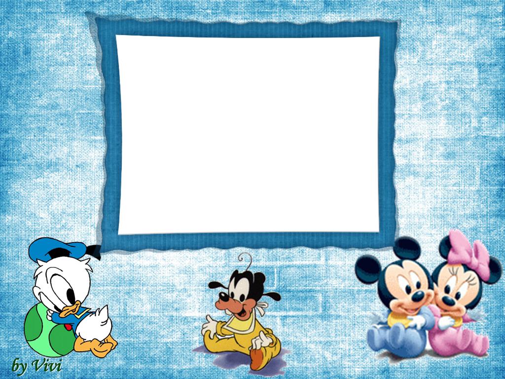 Disney babies free printable photo frames oh my fiesta - Marco fotos pared ...