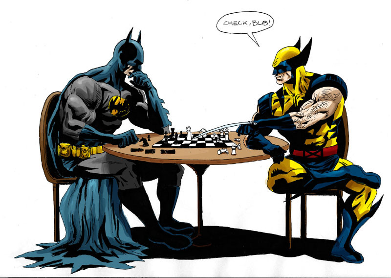Galeria de Imagens Batman_vs_wolverine_at_chess_by_sin