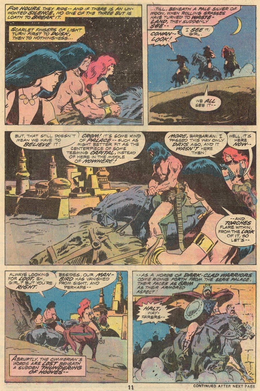 Conan the Barbarian (1970) Issue #68 #80 - English 8
