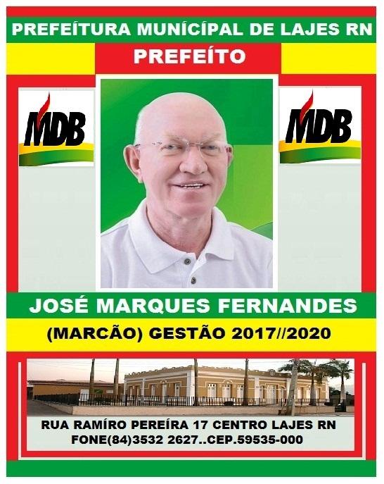 PREFEITO MARCÃO LAJES RN