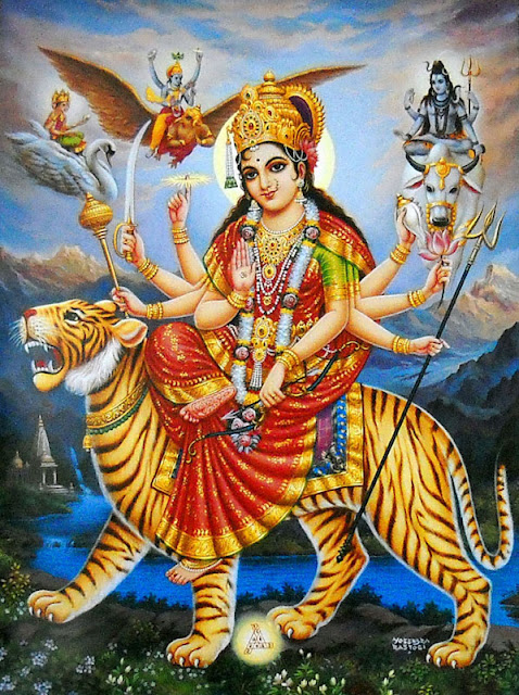 Goddess Durga Manokamna Purti Mantra | Hindu Goddess