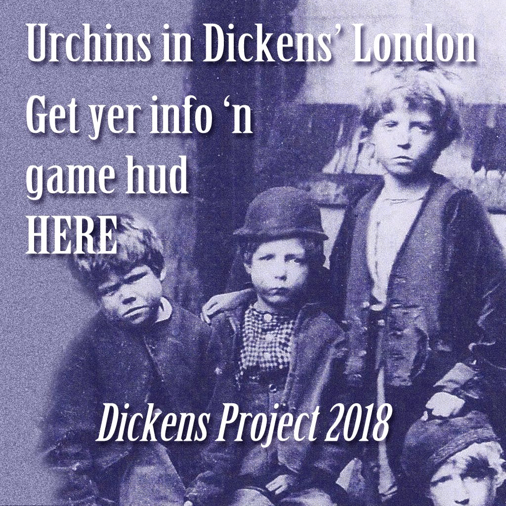 *NEW* at the 2018 Dickens Project