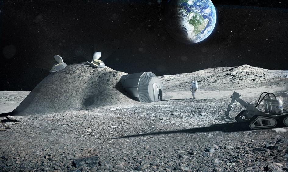 Primer motor de avión fabricado con impresora 3D Robot-impresora-3d-construir-base-lunar-crater-mosingenieros